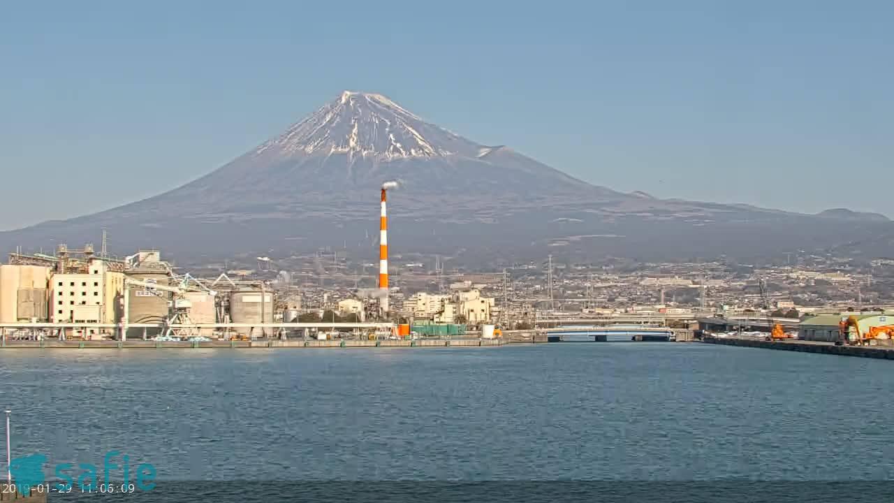 自社Youtube LIVE 富士山田子の浦港より