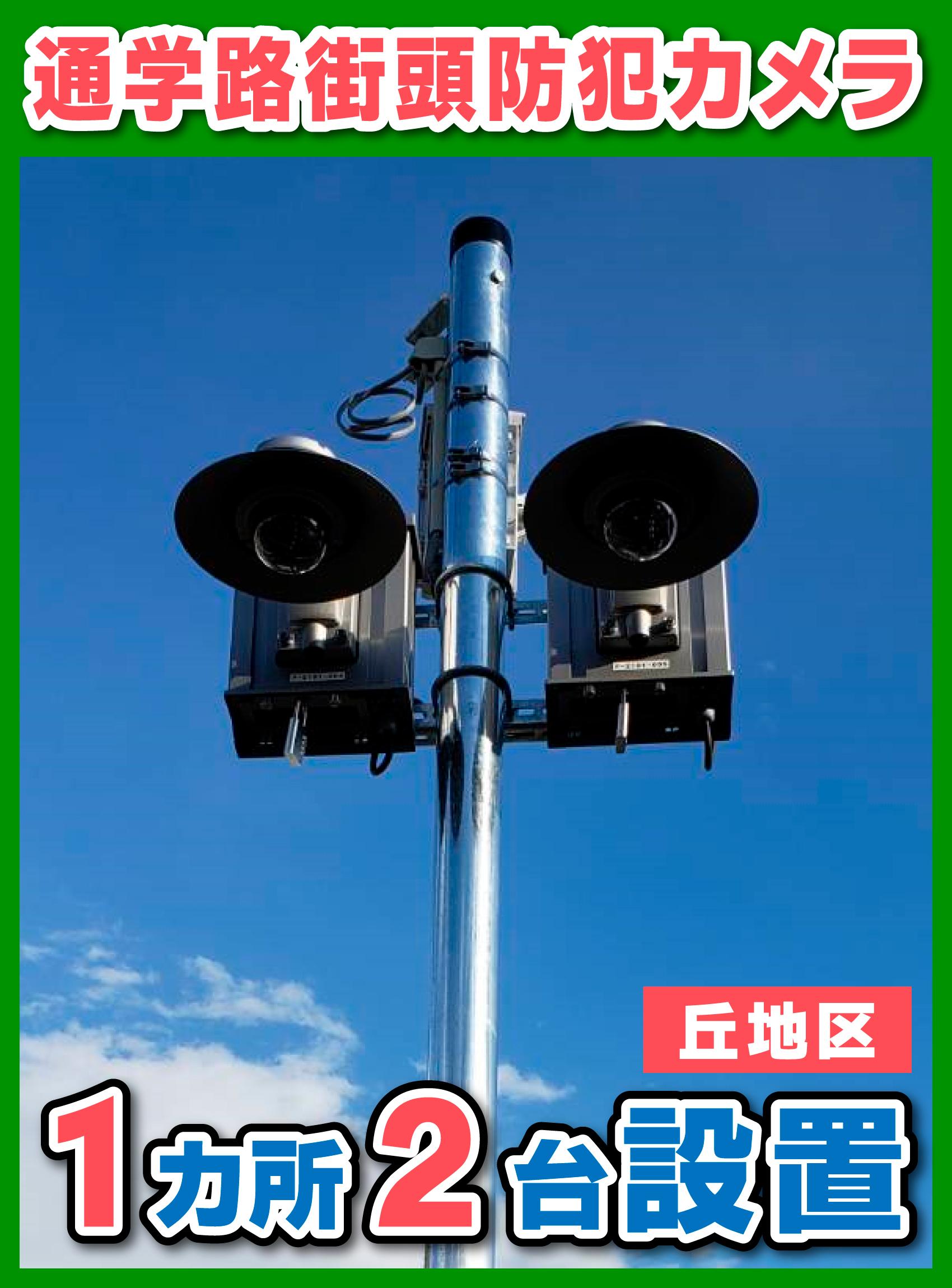 【街頭防犯カメラシリーズ】丘地区様